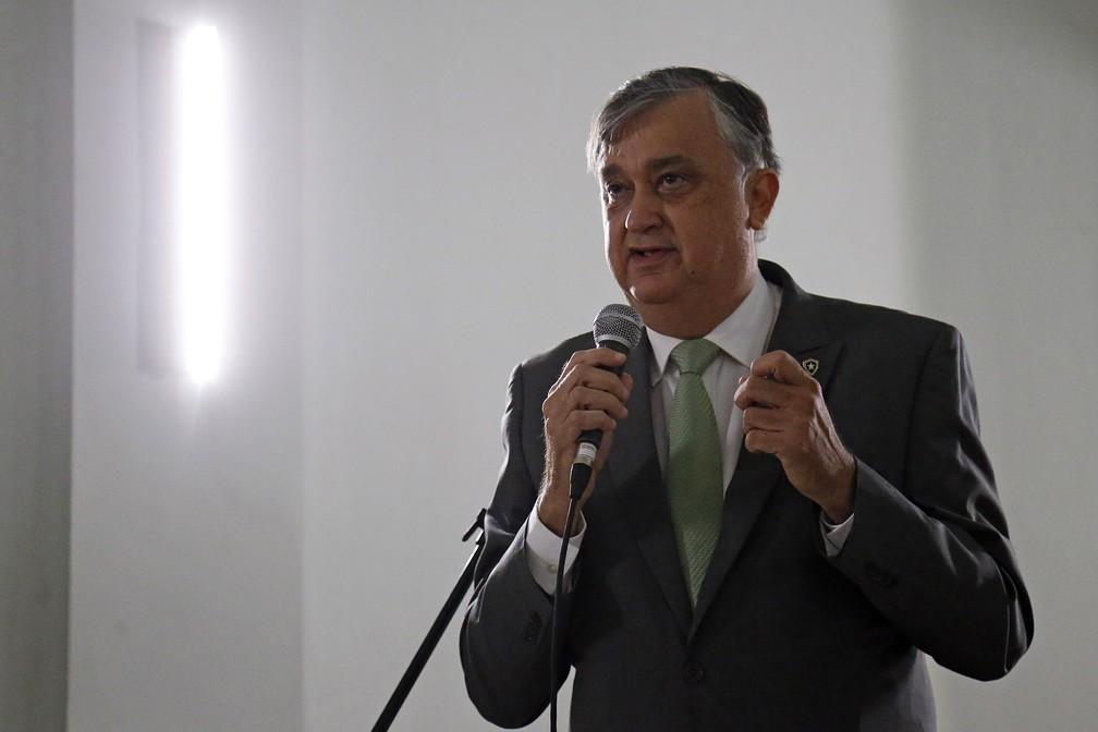Durcesio Mello, presidente do Botafogo — Foto: Vitor Silva/Botafogo