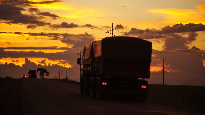 infraestrutura_transporte_caminhão (Foto: José Medeiros/ Editora Globo)