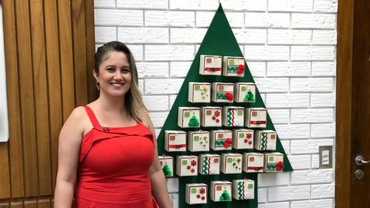 Natal: baixe os moldes e faça um calendário do advento para brincar com as crianças