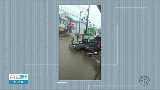 Fortes chuvas são registradas em Belém de Maria, Catende e Joaquim Nabuco, na Mata Sul