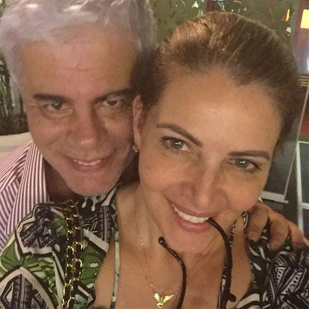 Wagner Montes e Sonia Lima (Foto: Reprodução)