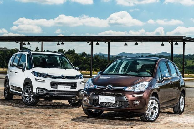 Citroën C3 e Aircross 2018 (Foto: Divulgação)