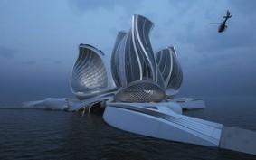Designer cria estação flutuante capaz de limpar o Oceano e ganha prêmio