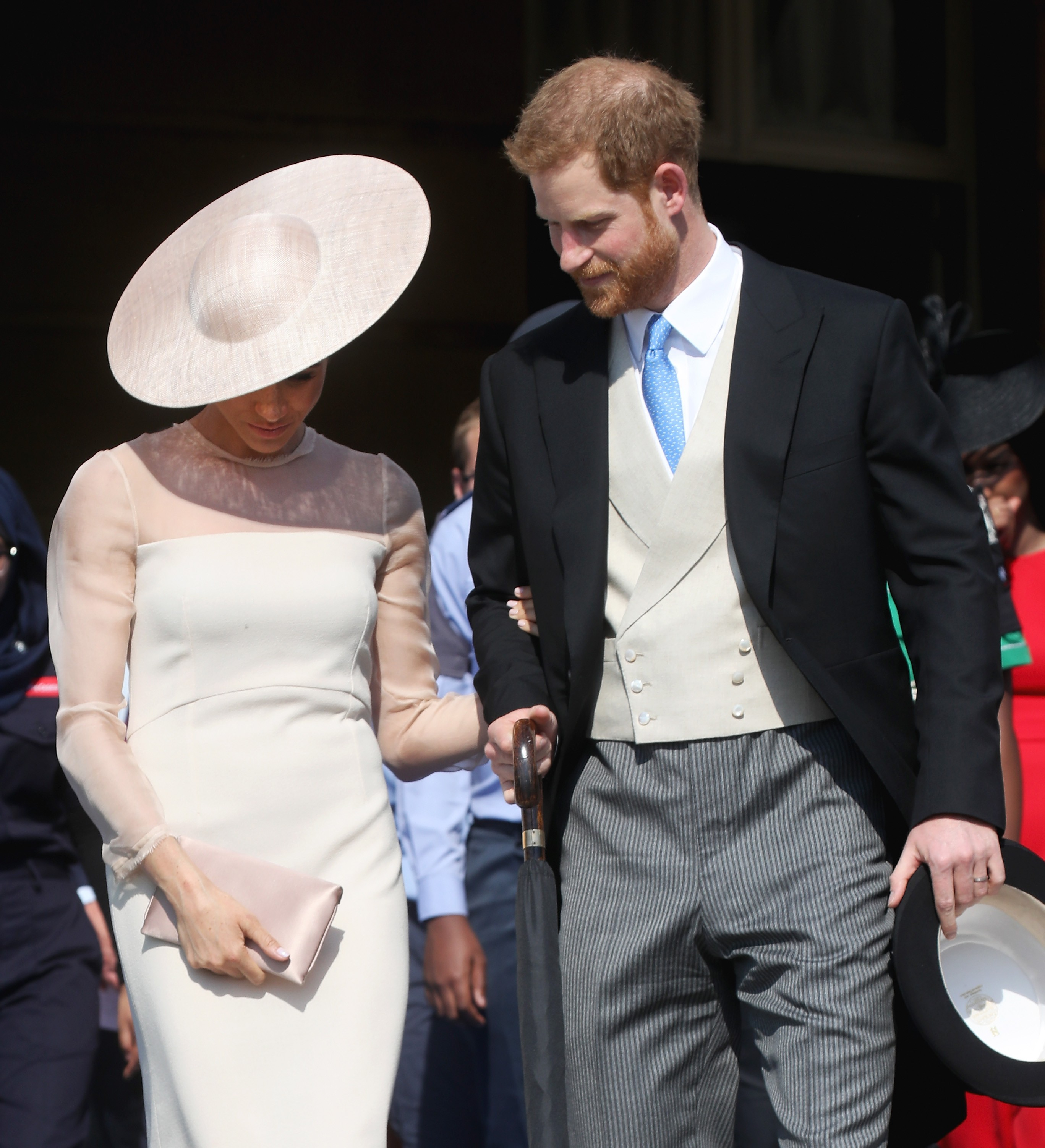 Meghan Markle e Harry, duquesa e duque de Sussex (Foto: Chris Jackson/Getty Images)