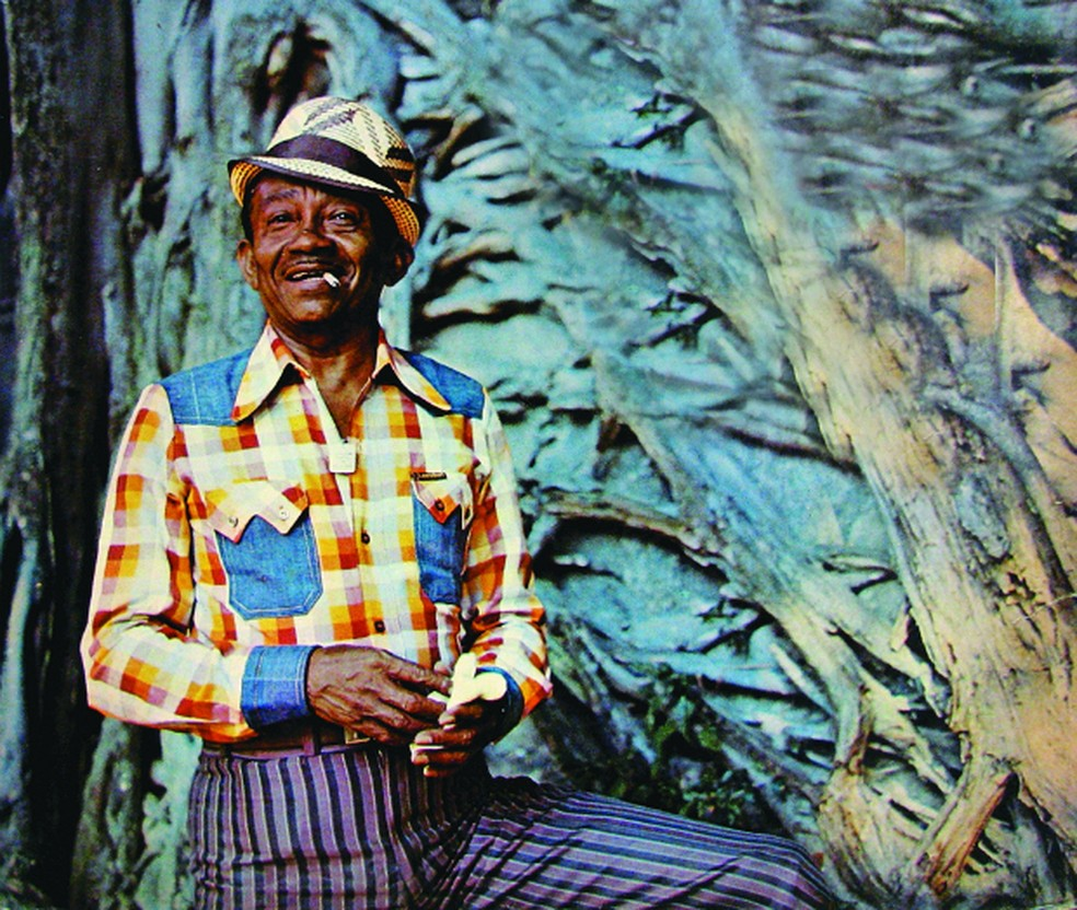 Jackson do Pandeiro deixa obra fundamental, concentrada em discos dos anos 1950 e 1960 — Foto: Reprodução / Capa do álbum 'Nossas raízes'