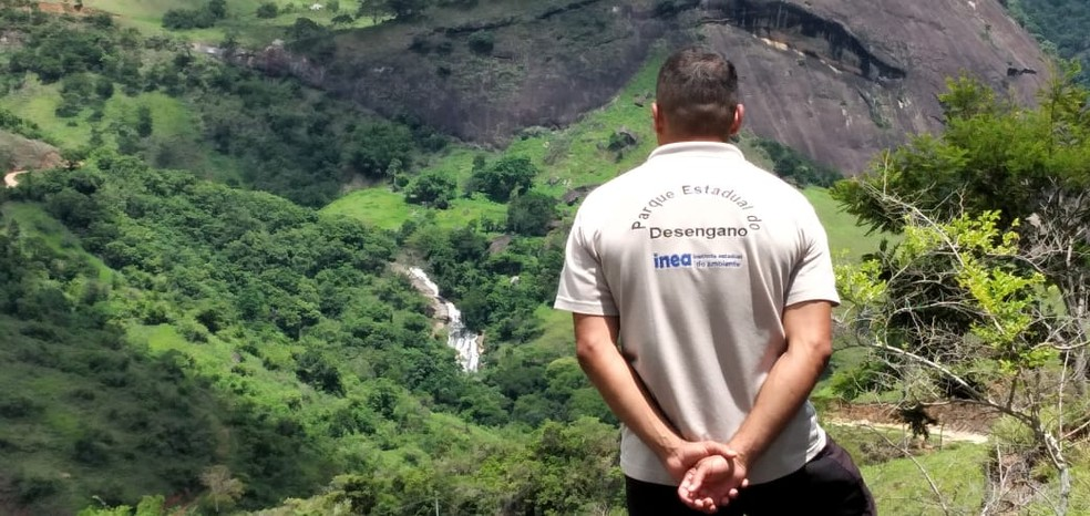 Visitas em reservas naturais em Santa Maria Madalena são feitas por equipes do Parque Nacional do Desengano — Foto: Divulgação/Inea