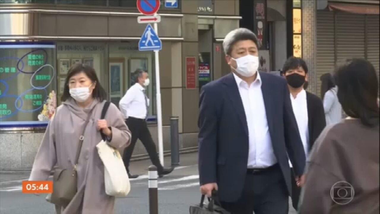 Japão registra cerca de 2 mil contágios por dia pelo novo coronavírus