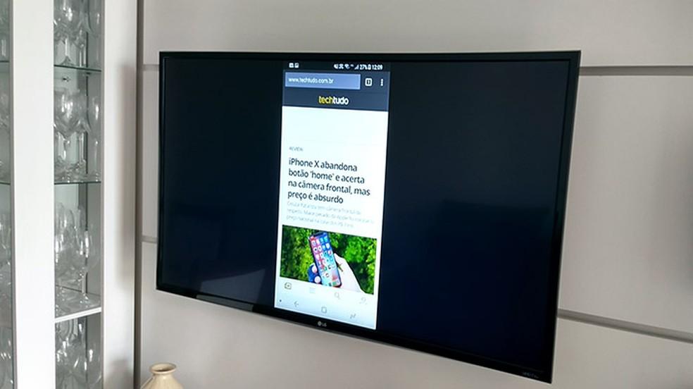 Como conectar o celular ou notebook na TV da LG | TVs | TechTudo