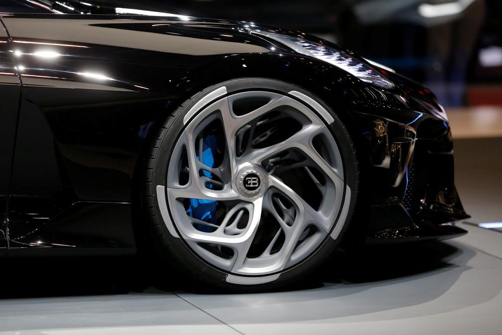 Bugatti La Voiture Noire — Foto: Pierre Albouy/Reuters