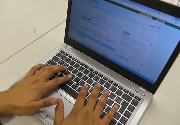 Site da Receita Federal (Foto: Marcello Casal Jr./Agência Brasil)