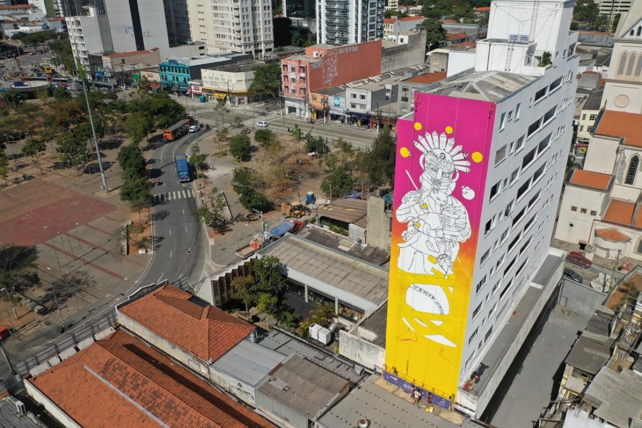 São Paulo pretende criar maior museu brasileiro de grafite a céu aberto no Largo da Batata