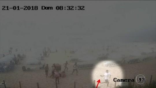 Vídeo mostra ação que terminou com estudante baleada na Praia da Reserva