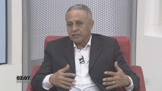 Ribamar Araújo é entrevistado pelo Rondônia TV nesta terça, 20