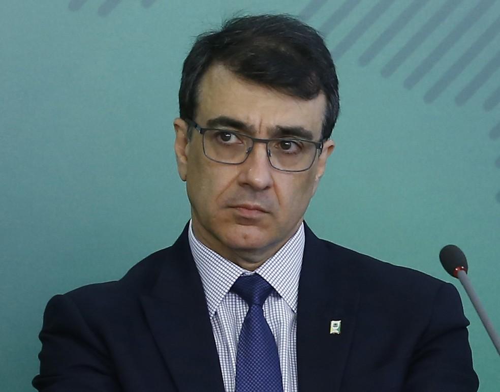 Carlos Alberto Franco França, novo ministro das Relações Exteriores, em foto de dezembro de 2018 no Palácio do Planalto  — Foto: Dida Sampaio/Estadão Conteúdo/Arquivo