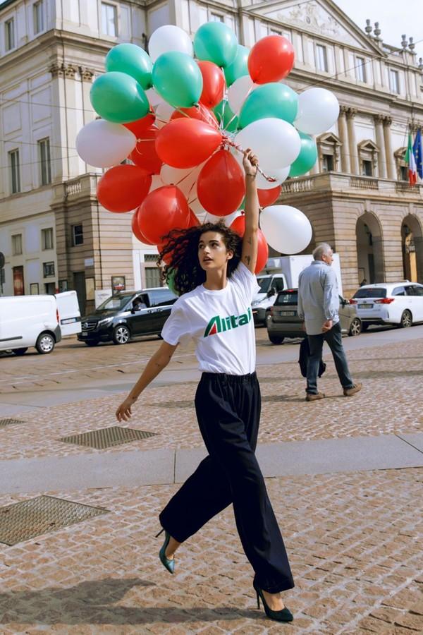 Alitalia (Foto: Reprodução Instagram)