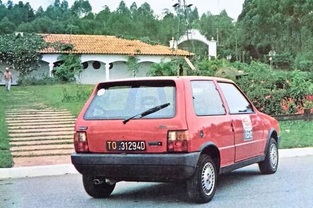 Uno Turbo italiano testado por AE (Foto: Autoesporte)