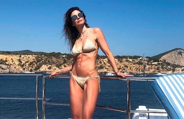 Luciana Gimenez em Ibiza (Foto: Reprodução/Instagram)