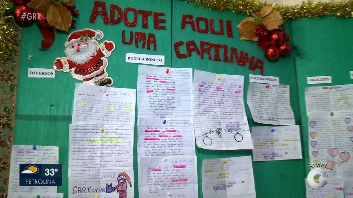 Começa a Campanha Papai Noel dos Correios em Petrolina - G1