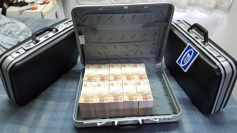 Operação da PF combate crimes de estelionato e moeda falsa (Foto: Divulgação/ Polícia Federal)