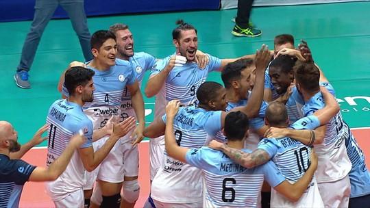 Festa hermana! Bolívar-ARG vence Sesc-RJ e conquista a Copa Libertadores de Vôlei