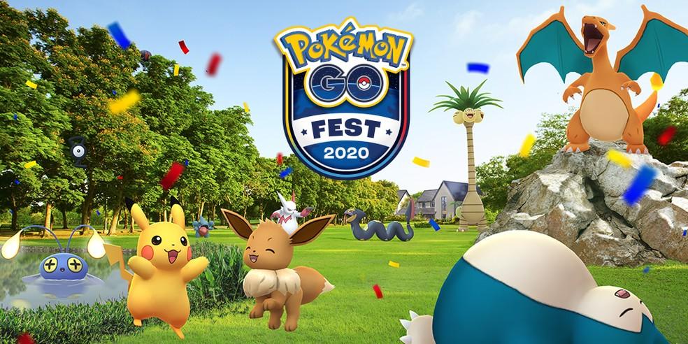 Pokémon GO Fest 2020 acontecerá de forma remota — Foto: Divulgação/Pokémon GO