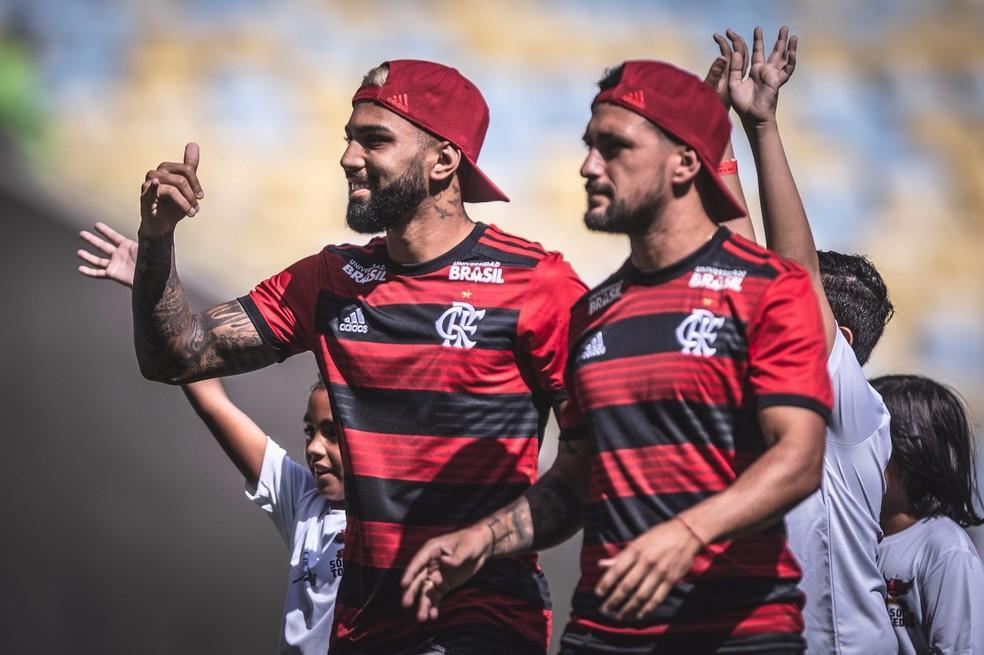 Flamengo esbanjou em contratações neste início de ano — Foto: Pedro Martins/Foto FC