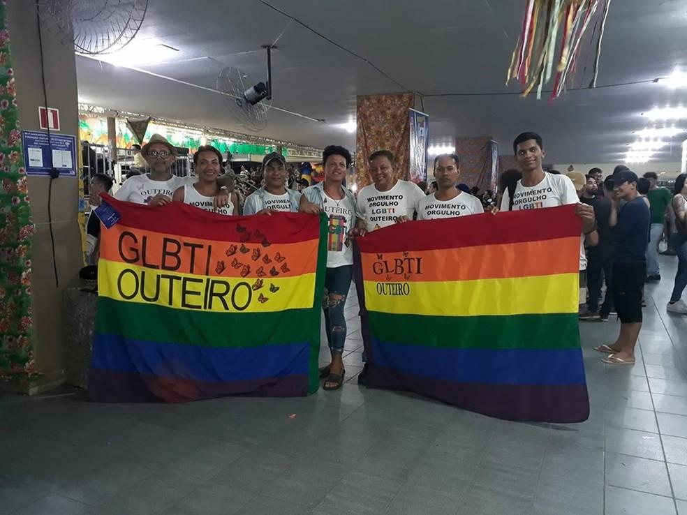 Organização LGBTI — Foto: Reprodução/Facebook