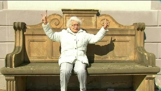 Alemã deseja iniciar carreira política aos 100 anos