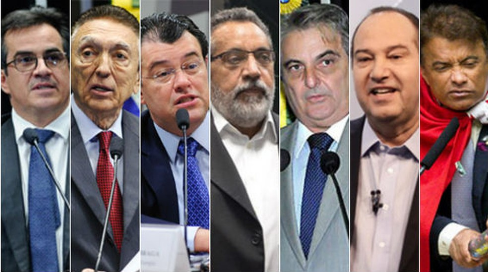 G1 localizou sete chapas ao Senado que têm laços familiares (Foto: G1 )