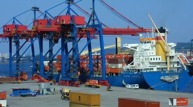Exportação e Importação (Foto: Wikipedia)