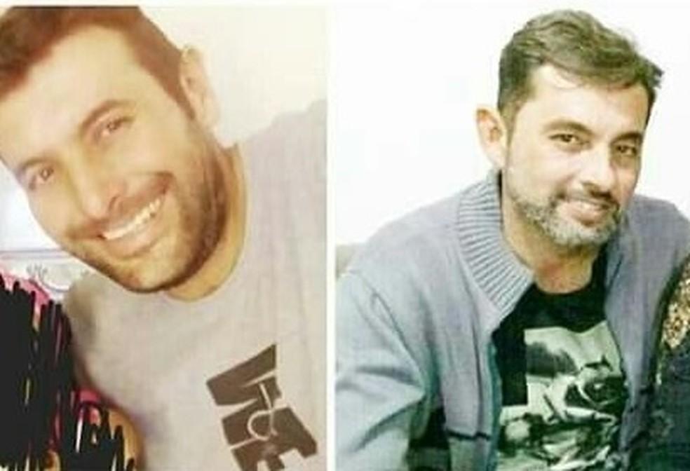 Irmãos foram encontrados mortos em uma área de mata em Caçapava — Foto: Reprodução/Arquivo pessoal