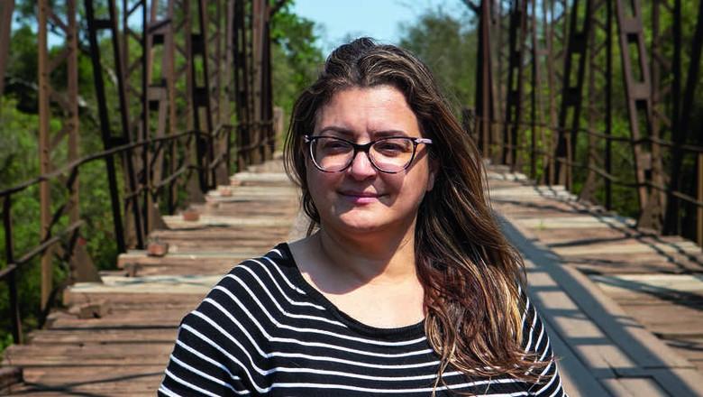Fátima Marchezan, Presidente da Associação dos Arrozeiros de Alegrete (Foto: Marcelo Curia)