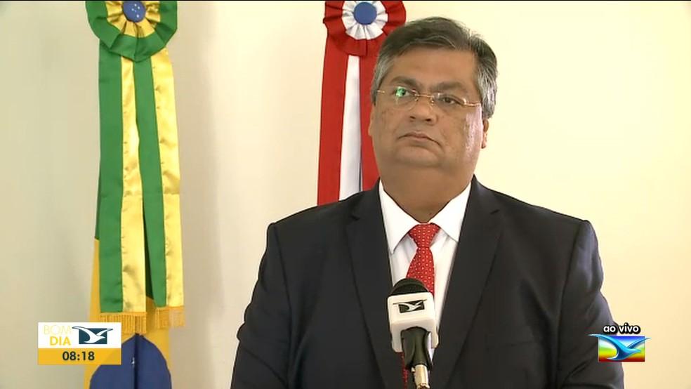 Governador do Maranhão Flávio Dino — Foto: Reprodução/TV Mirante