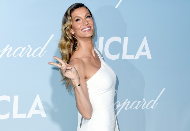 LOS ANGELES, CALIFORNIA - FEBRUARY 21: Gisele Bündchen attends the 2019 Hollywood For Science Gala at Private Residence on February 21, 2019 in Los Angeles, California. (Photo by Steve Granitz/WireImage) (Foto: WireImage)