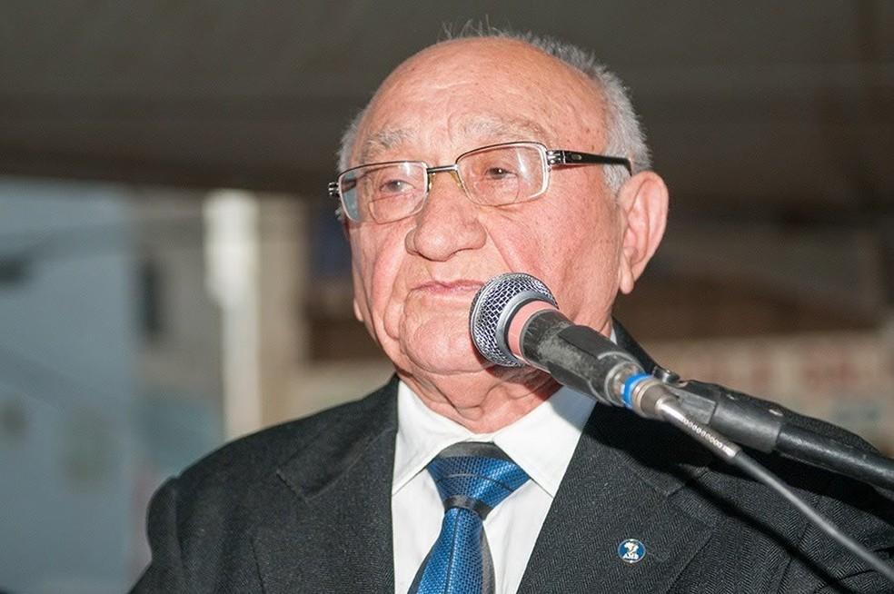 Morre aos 91 anos ,Francisco Sampaio , vice- prefeito de Salgueiro — Foto: Ascom/ Divulgação