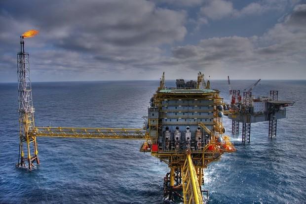 Plataforma de petróleo (Foto: Divulgação )