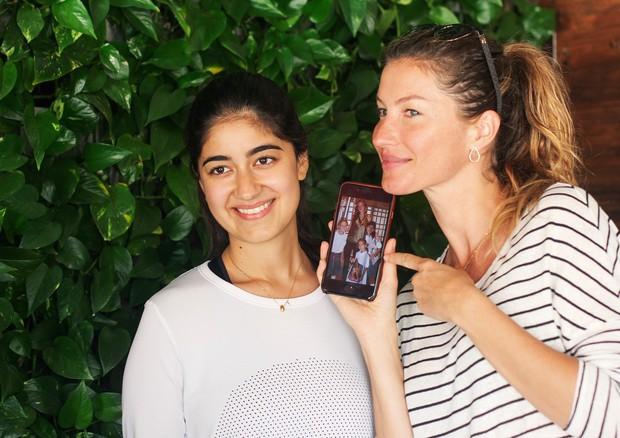 Gisele Bündchen visita restaurante orgânico no Catar (Foto: Reprodução/Instagram)