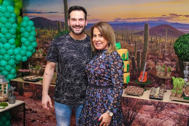 Zilu e Marco Ruggiero (Foto: Thiago Duran/AgNews)