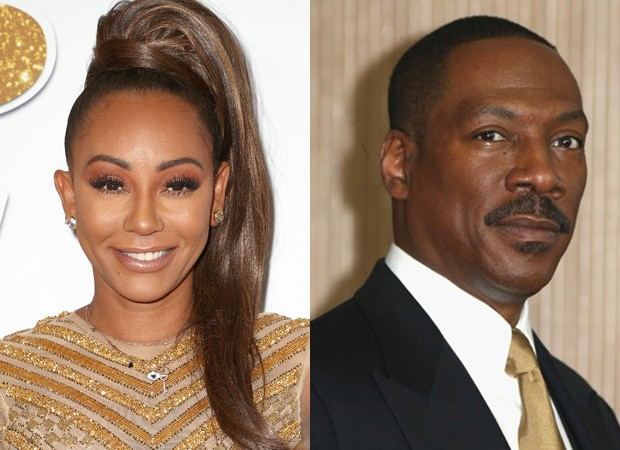 Mel B e Eddie Murphy (Foto: Getty Images)
