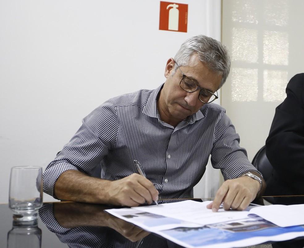 Alexandre Campello, presidente do Vasco — Foto: Rafael Ribeiro/Vasco