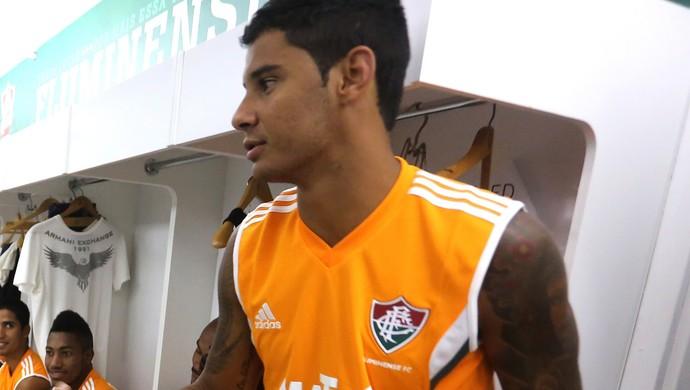 Cristóvão Borges Michael Fluminense (Foto: Nelson Perez / Fluminense)