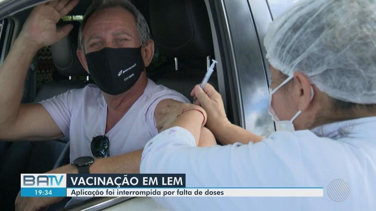 Cidades da Bahia têm vacinação contra Covid-19 suspensa por falta de doses; confira