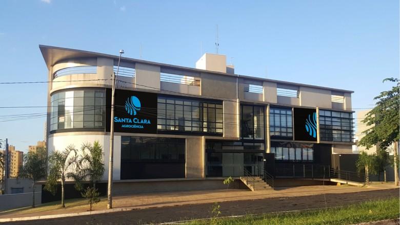 Sede da Santa Clara Agrociência, em Ribeirão Preto (SP) (Foto: Divulgação/Santa Clara)