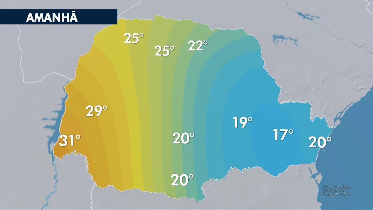 Temperatura cai em muitas cidades nesta sexta-feira