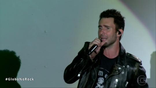 Maroon 5 joga para sua torcida no 2º show do Rock in Rio após substituir Lady Gaga