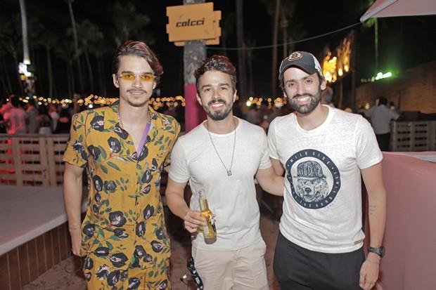 Victor Carvalheira, Rafael Lobo e Jorge Peixoto (Foto: Vinicius Ramos/ Divulgação)