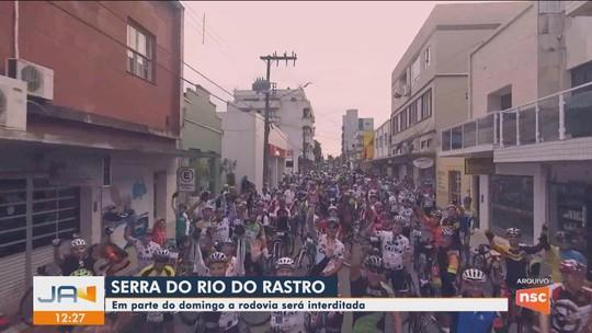 Estrada da Serra do Rio do Rastro será interditada neste domingo para receber prova de ciclismo