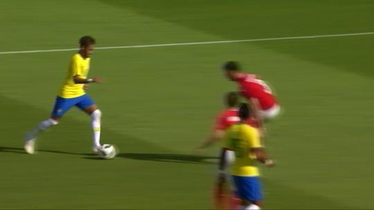 Perseguição austríaca a Neymar chama a atenção, e CBF lembra turcos com Denilson