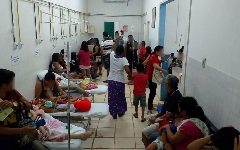 Ala de pediatria é a mais preocupante do Hospital Estadual de Santana — Foto: CRM-AP/Divulgação