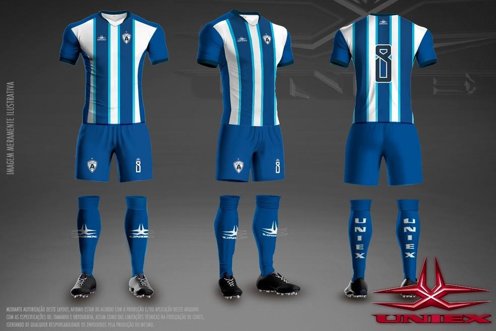 Atlético de Cajazeiras divulga novos uniformes para 2018  Veja os ... abc6440a2cffc